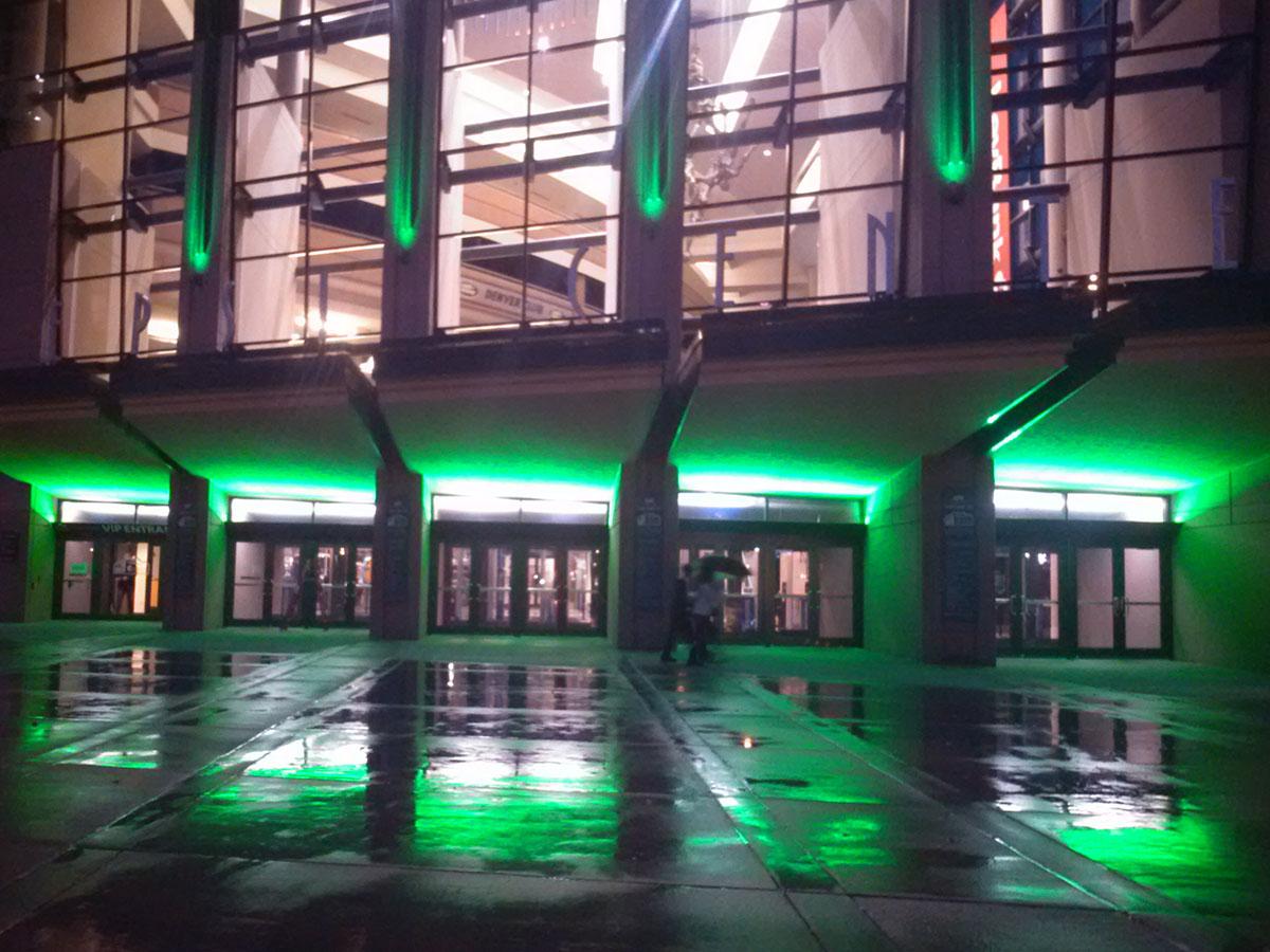 pepsi center lighting upgrades
